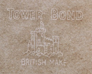 Tower Bond - British Make marca al agua