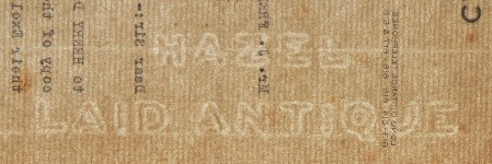 Hazel Laid Antique watermark