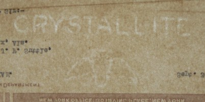 Crystallite watermark