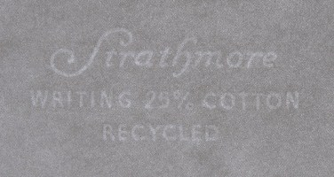 Strathmore Writing Recycled watermark