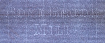 Boyd Brook Mill marca al agua