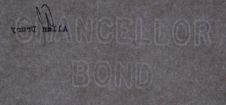 Chancellor Bond watermark