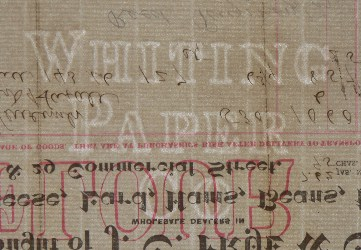 Whiting Paper Co watermark