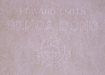 Howard Smith Genoa Bond - Made in Canada watermark