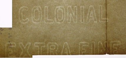 Colonial Extra Fine watermark