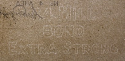 64 Mill Bond Extra Strong marca al agua