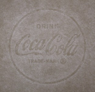 Drink Coca Cola Trade-Mark ® marca al agua