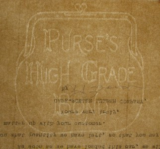 Purse's High Grade Bond watermark