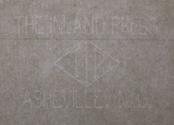 The Inland Press TIP Asheville, N. G. watermark