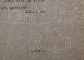 Irish Linen Bond watermark