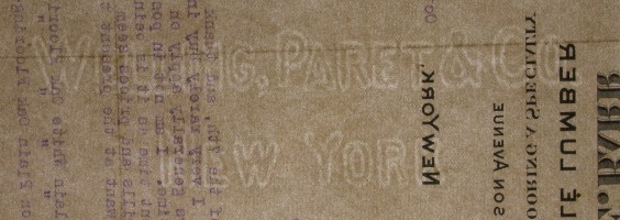 Welling, Paret & Co. New York watermark