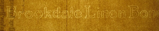 Brookdale Linen Bond watermark