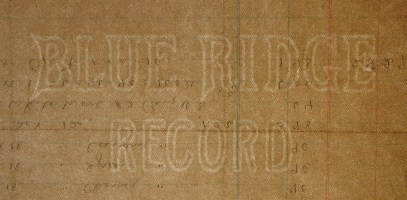 Blue Ridge Record watermark