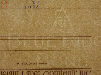 Blue Ridge Bond APCO (Antietam Paper Co.) watermark