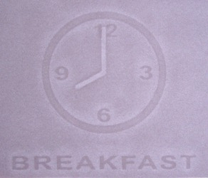 Breakfast watermark