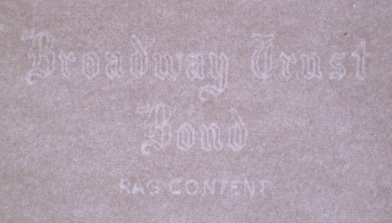 Broadway Trust Bond watermark