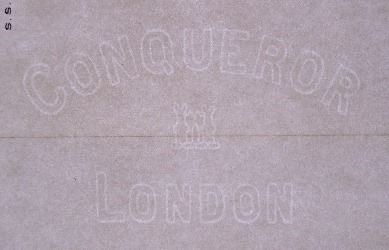 Conqueror London marca al agua