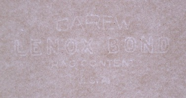 Carew Lenox Bond watermark