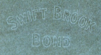 Swift Brook Bond marca al agua